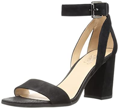 dd0f0e5271 Amazon.com   Franco Sarto Women's Malibu Heeled Sandal   Heeled Sandals