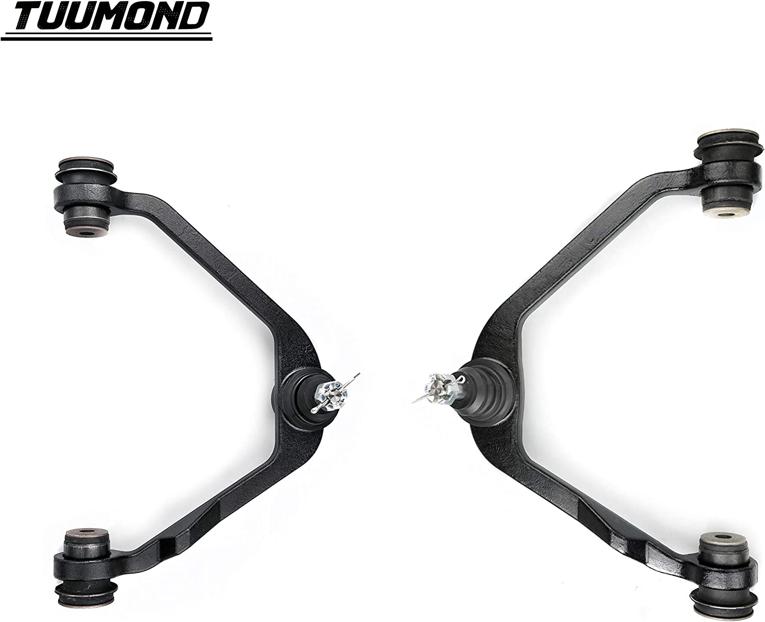 TUUMOND Front Upper Control Arm with Ball Joint Bushing Assembly for 97-02 Ford Expedition / 97-03 Ford F-150 Pickup / 04-04 Ford F-150 Heritage and Lightning Pickup K8726 K8728