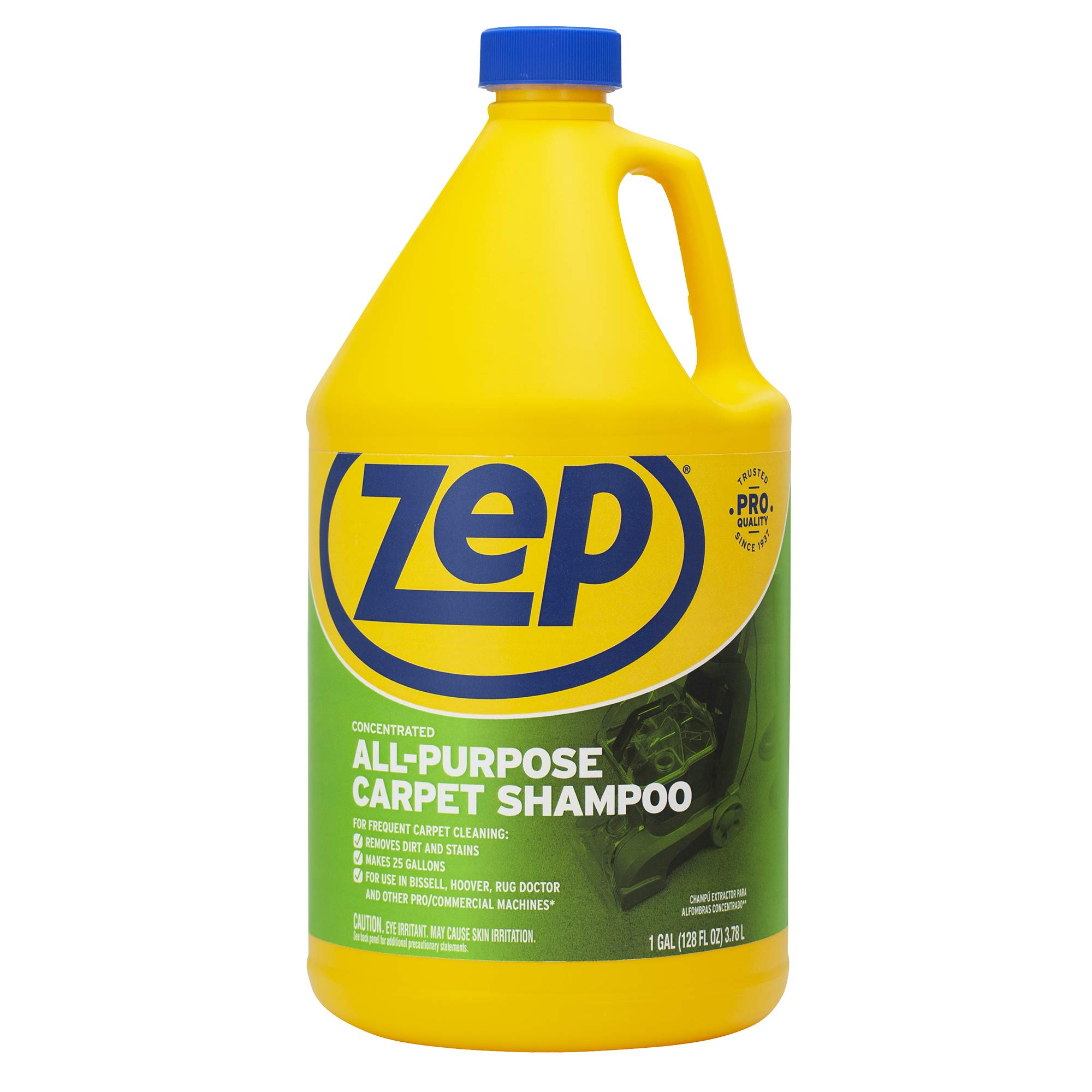 Zep All-Purpose Carpet Shampoo Concentrate 128 Ounce ZUCEC128