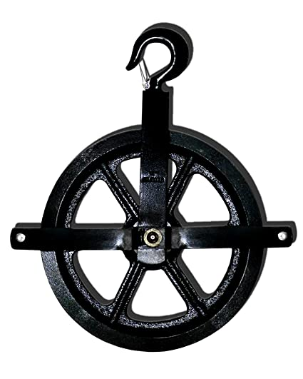 Rope Pulley Wheel Hoist Block And Tackle Pulley System Chain