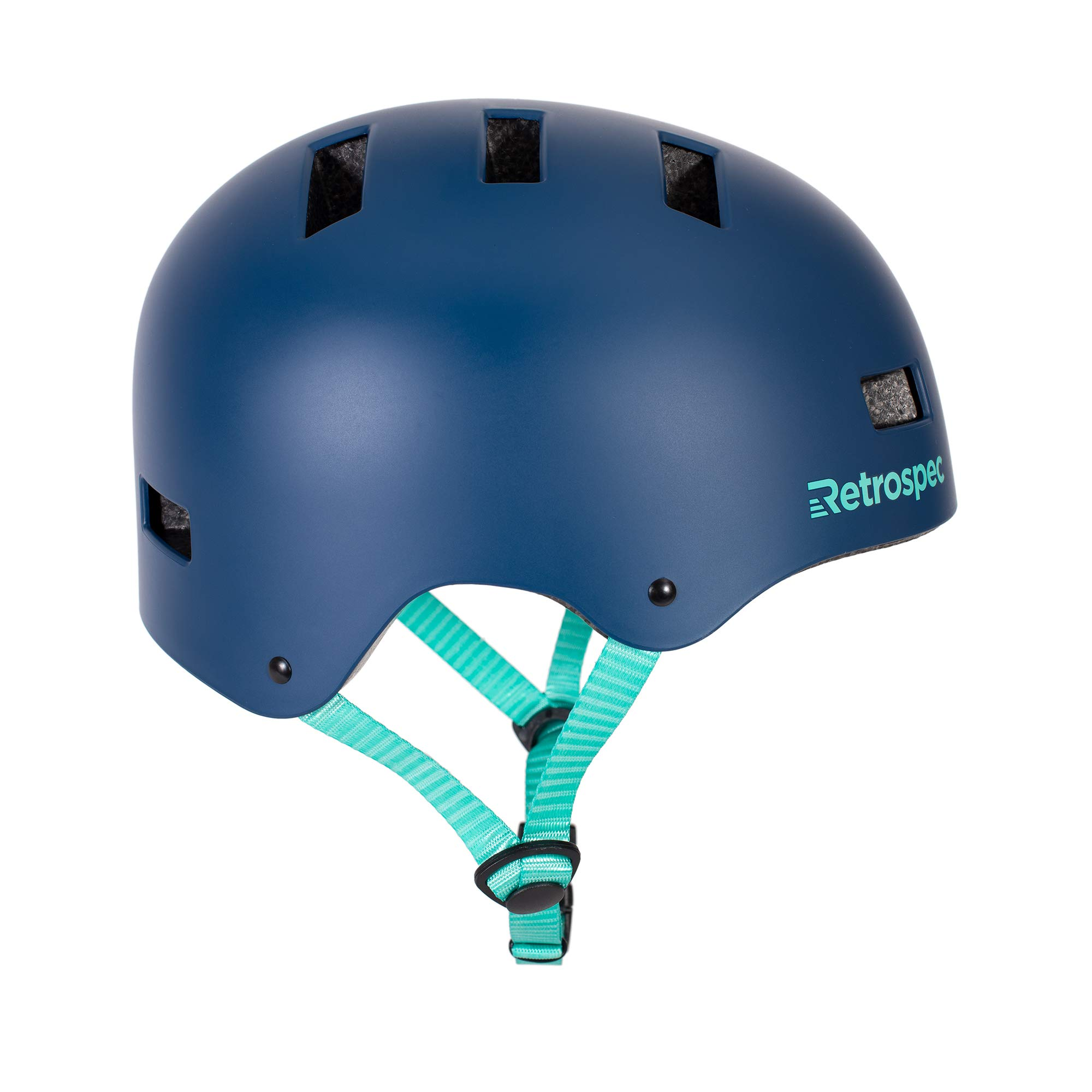 Retrospec CM-1 Bicycle / Skateboard Helmet for Adult CPSC Certified Commuter, Bike, Skate, Matte Midnight Blue, Small: 51-55 cm / 20''-21.75''