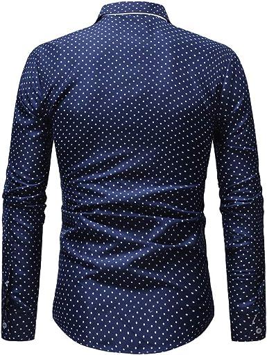 SKJJKT - Camisa de manga larga para hombre, diseño de estrella de cinco puntas: Amazon.es: Ropa y accesorios