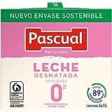 Leche Pascual - Clásica Leche Desnatada - 1 L (Paquete de 6)