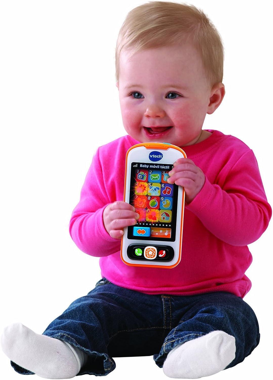 VTech - Baby móvil con Pantalla táctil (3480-146122): Amazon.es ...