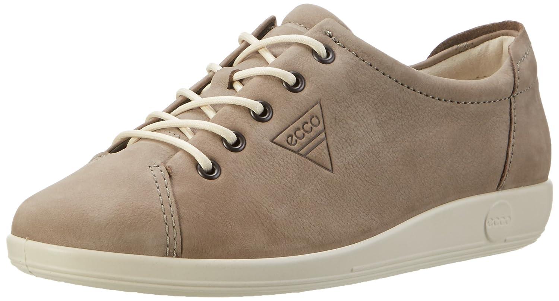 Ecco Soft 2.0, Zapatos de Cordones Derby para Mujer 39 EU|Grau (2375warm Grey)