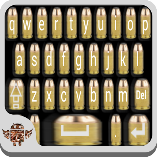 Gun Bullet Keyboard (Best Paid Keyboard For Android)