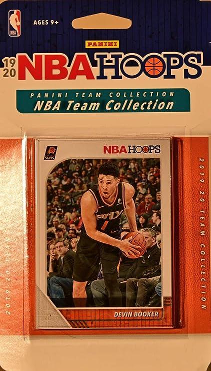 Phoenix Suns 2019 2020 Hoops Juego de 8 Tarjetas Selladas de fábrica de Baloncesto con Libro de Devin, Deandre Ayton y Ricky Rubio Plus: Amazon.es: Deportes y aire libre