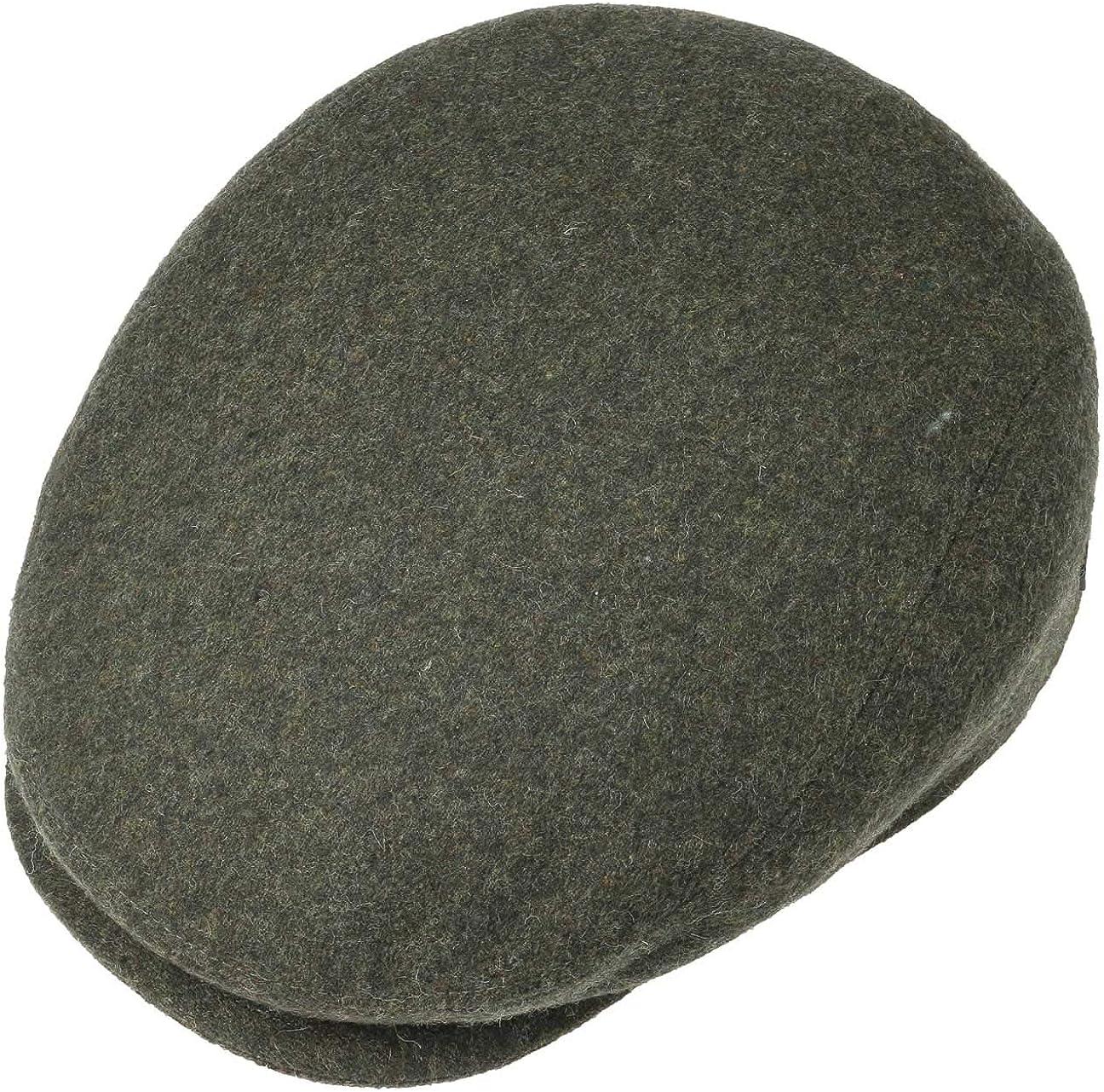 XXL 62 cm Sporty Peaked Cap Lipodo Sport Flat Cap Olive-Green for Men and Women Autumn Winter Flat Cap with Peak in Sizes XS 53 cm