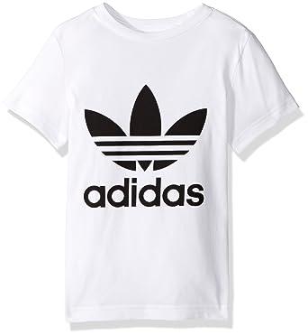 Amazon.com  adidas Originals Boys  Kids Trefoil Tee  Clothing 7da6459a0