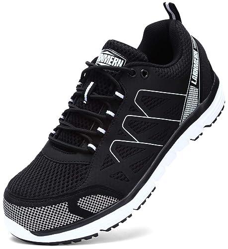 7105715b Zapatos de Seguridad Hombre, SRC Antideslizante Anti Estático Zapatos de  Trabajo S1P Zapatos Seguridad, L8055: Amazon.es: Zapatos y complementos