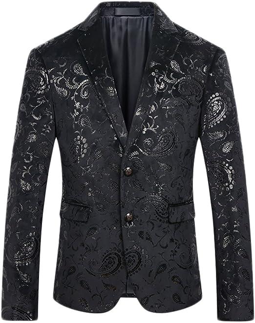 Amazon.com: Cloudstyle Saco tipo blazer para hombre con ...
