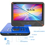 WONNIE 12.5 Inch Portable DVD Player with 4 Hour