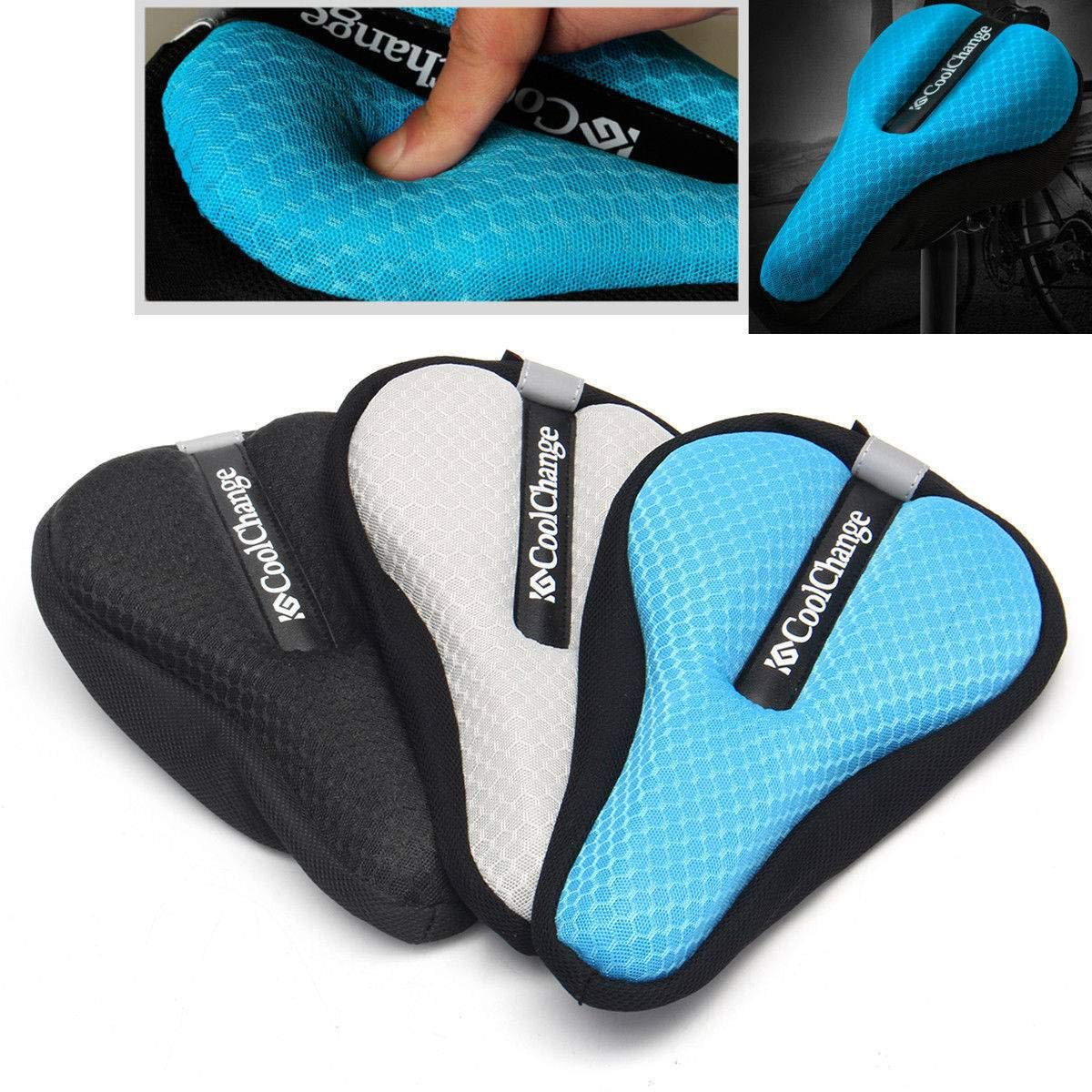vivpro Silicone Gel Extra Soft Bicycle Bike MTB Saddle Cushion Seat Cover Pad Comfort by vivpro (Image #7)
