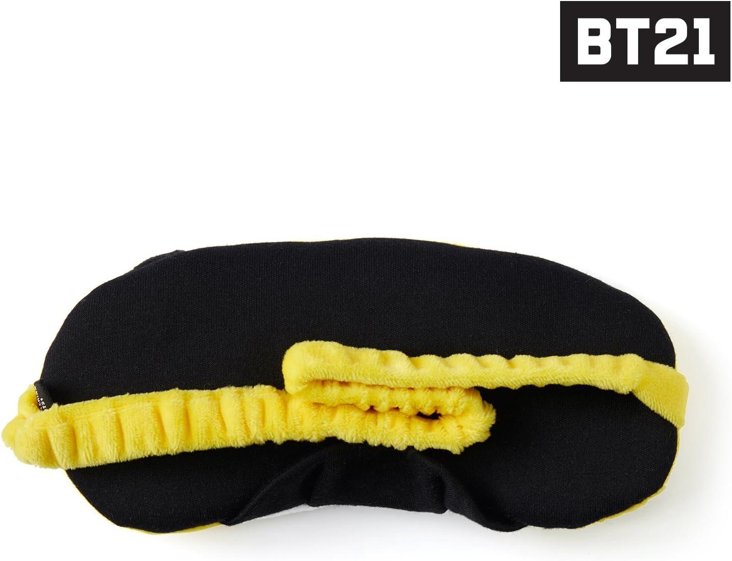 BT21 Official Merchandise by Line Friends CHIMMY Character Eye Sleep Mask for Men /& Women