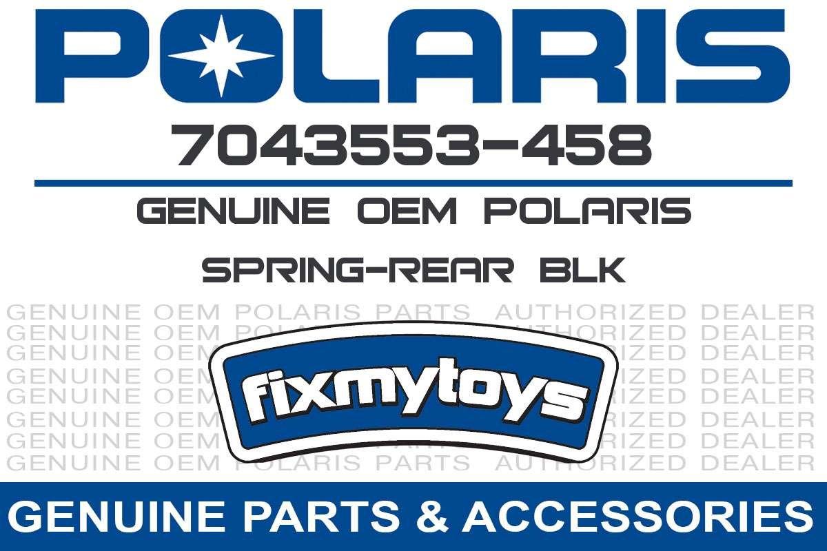 Polaris 2010 Ranger 4X4 400 Ho Spring Rear Blk 7043553-458 New Oem