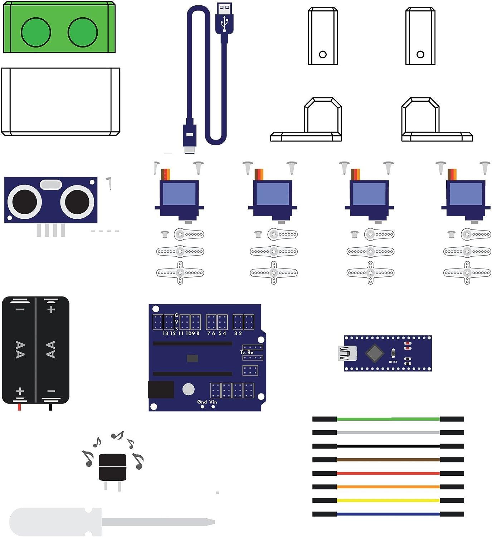 ACROBOTIC Otto Robot de Caminar, Kit Completo Compatible con ...