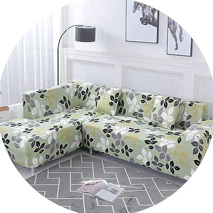 Amazon.com: Stretch Elastic Sofa Cover Cotton Sofa Towel ...