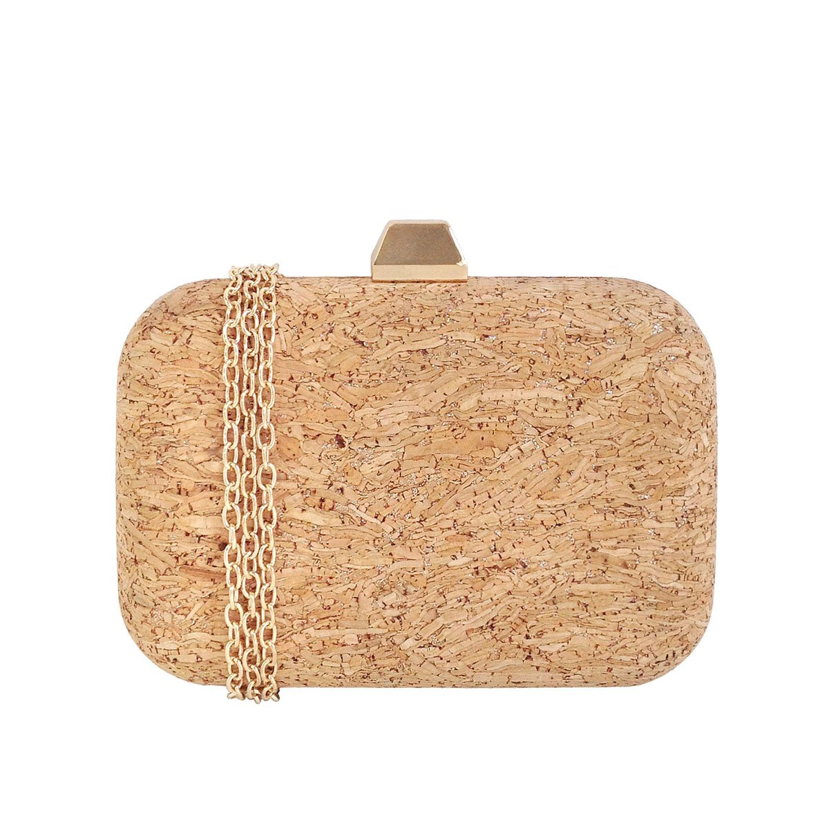 Cork Box Clutch (GOLD)