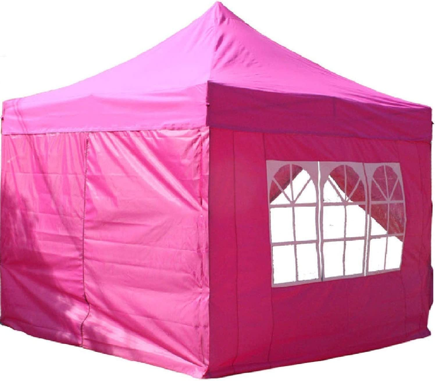 F Model SALE $$$ 10/'x10/' Heavy Duty Pop Up  Party Wedding Tent EZ Pink//White