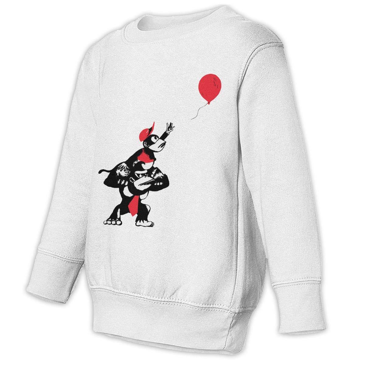 Gorilla Kids Unisex Cotton Long Sleeve Round Neck Pullover