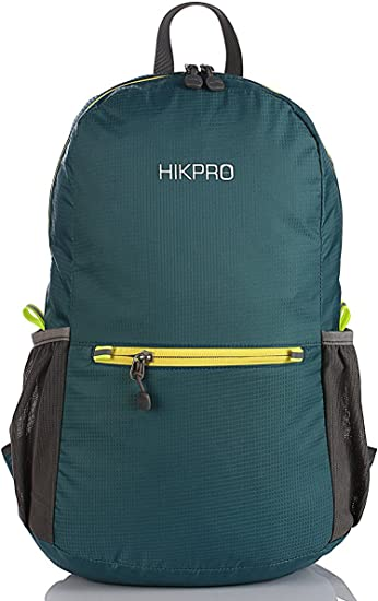 HIKPRO Water Resistant Travel Hiking Daypack
