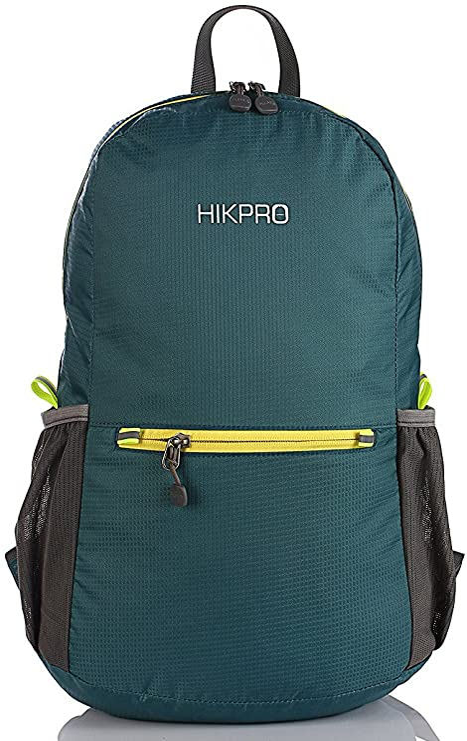 NEW #20206 ORANGE HIKPRO Packable Backpack Duralight 20 Hiking//Outdoor