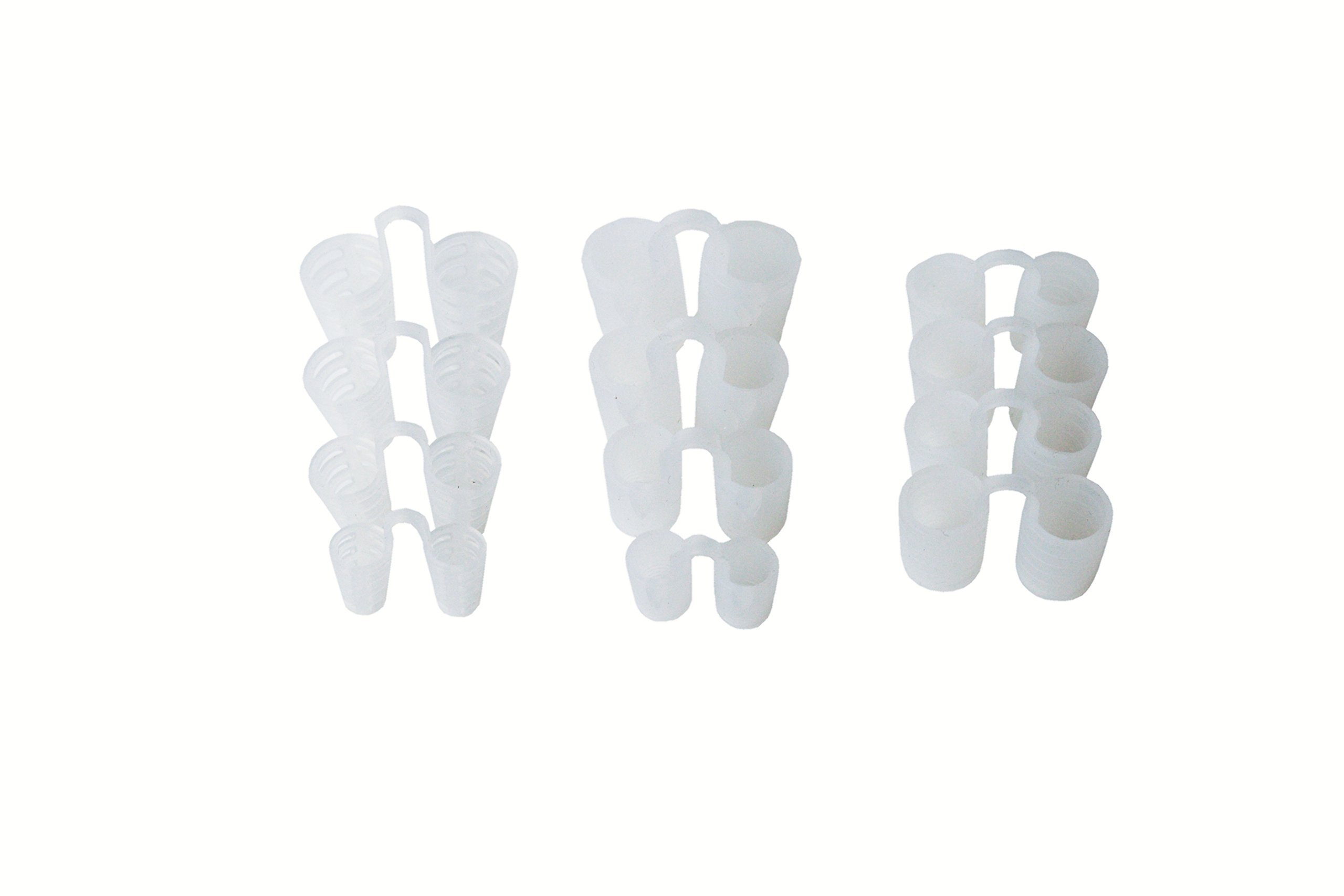 Anti-Snoring Nose Vent Set By Snore Bastion - Set Of 12 - Premium Quality Medical Grade Silicone - Instant Natural Snore Relief - Facilitates Airflow In The Nasal Passageways To Ease Breathing by Snore Bastion (Image #8)