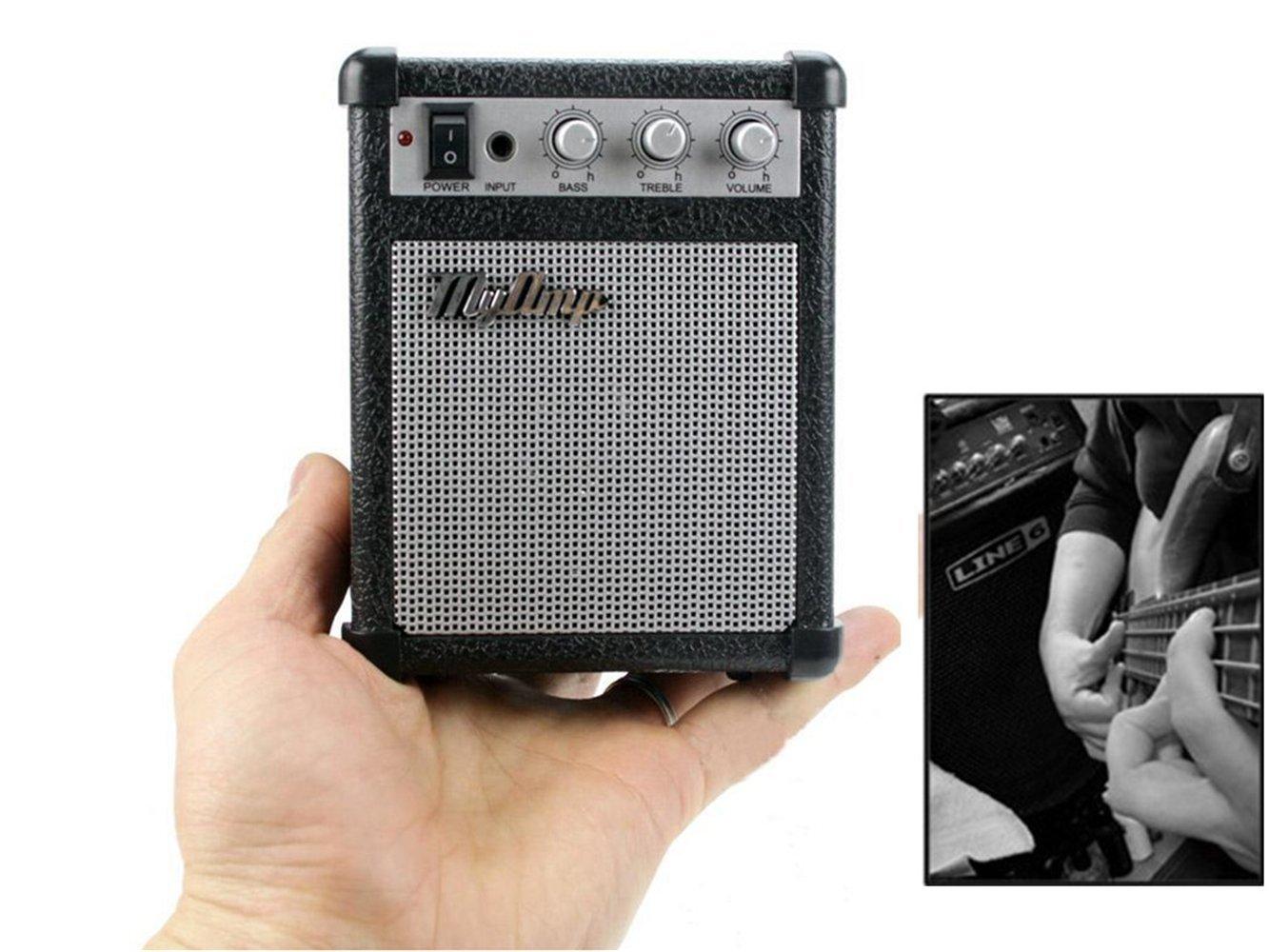 ポータブルMyAmp強力なmp3携帯電話スピーカー、Refinement MyAmp万能ギターアンプwith低音と高音コントロール   B0777L1G4X, ウレシノチョウ:93e1649c --- krianta.ru