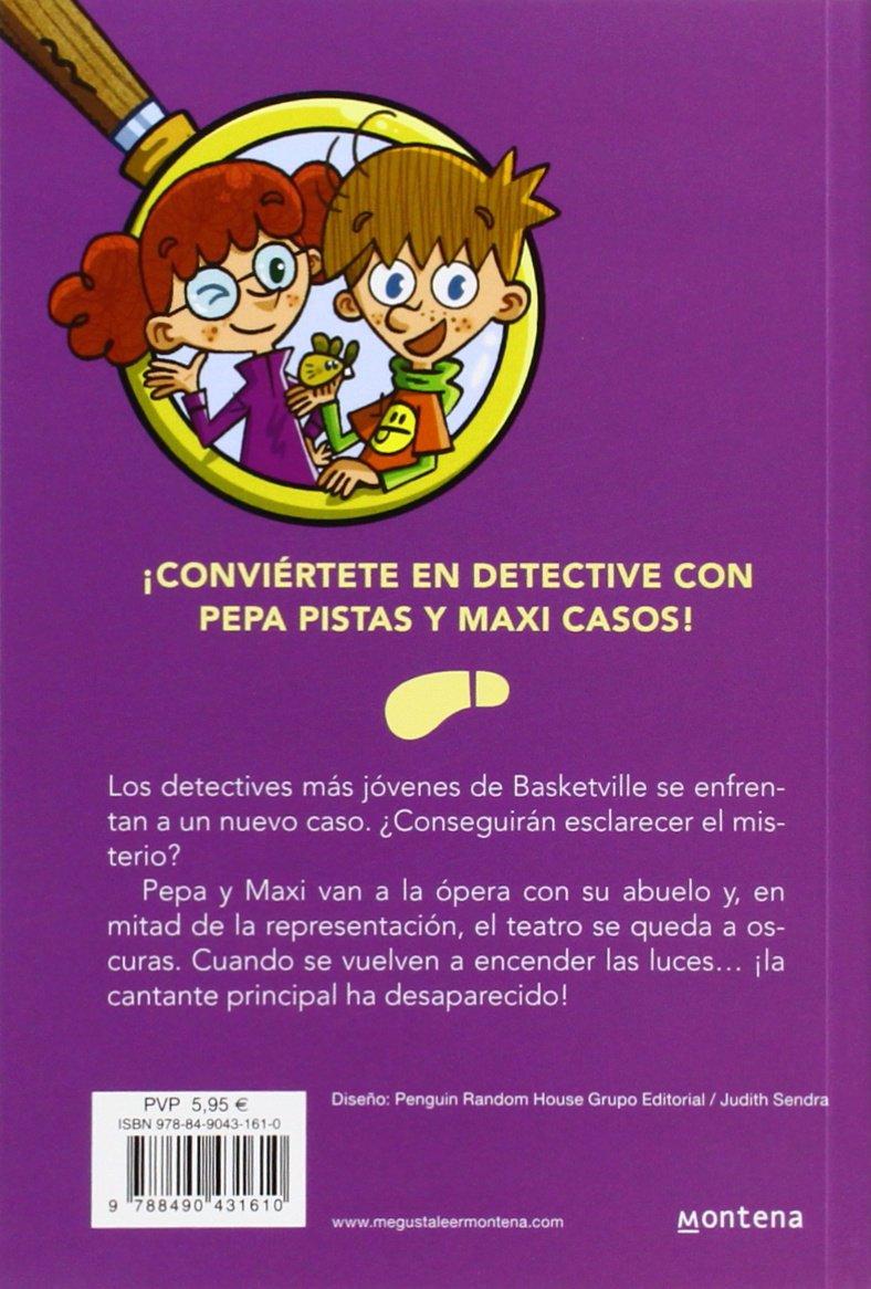El caso del fantasma del teatro Serie Los BuscaPistas 8: Amazon.es: Teresa  Blanch, José Ángel Labari Ilundain: Libros