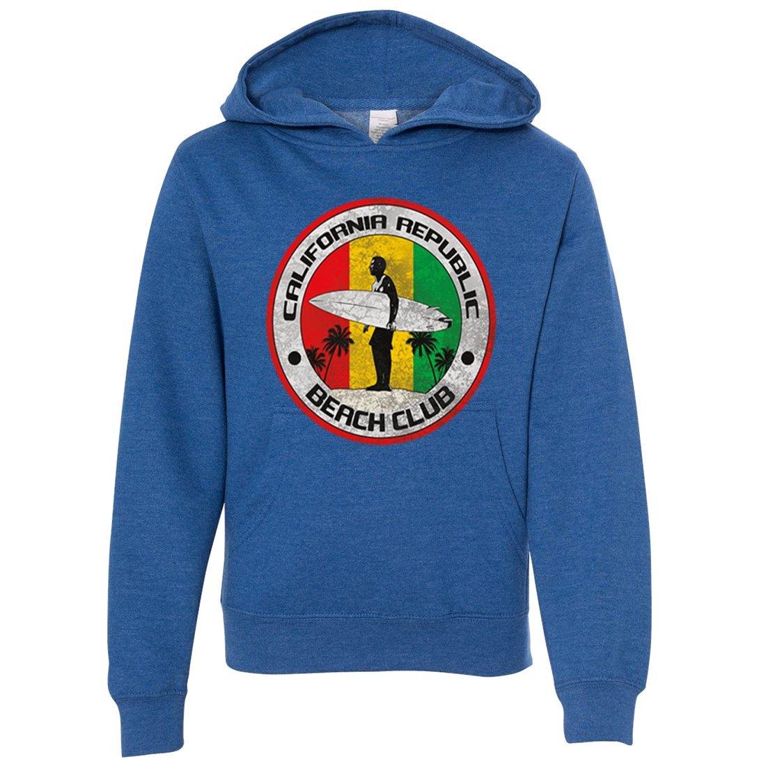 California Republic Beach Club Premium Youth Sweatshirt Hoodie