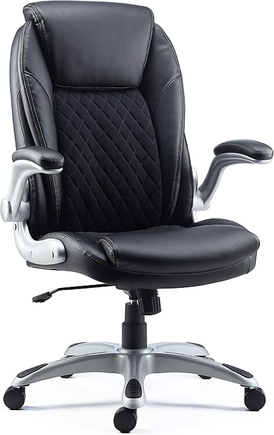 Staples Sorina Bonded Leather Chair (Black, Sold as 39 Each) - Adjustable  Office Chair with Plush Padding, Provides Lumbar, Arm and Head Support,