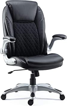 Amazon Com Staples Sorina Bonded Leather Chair Black Sold As 1 Each Adjustable Office Chair With Plush Padding Provides Lumbar Arm And Head Support Perfect Desk Chair For The Modern Office Furniture