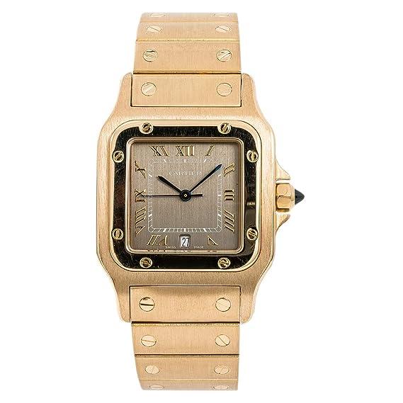 43210e42a8be8 Cartier Santos Galbee 887901 - Reloj de Cuarzo para Hombre (Certificado  prepropietario)