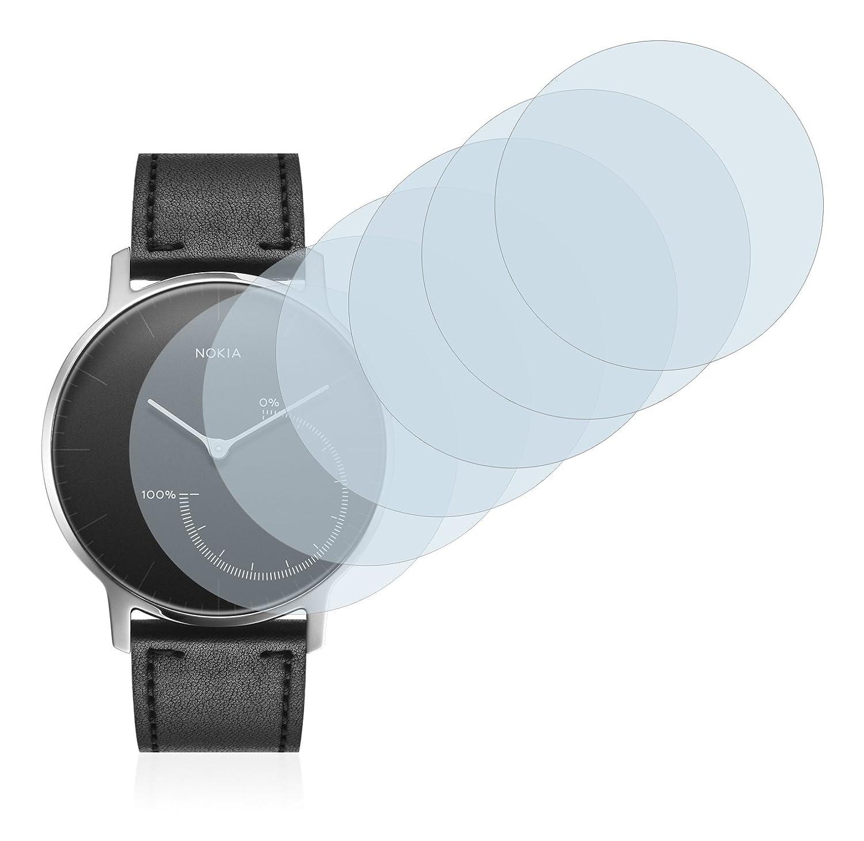 Savvies Film Protection décran Compatible avec Nokia Activité Steel [6 Pièces]: Amazon.fr: High-tech