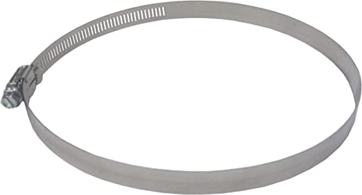 LDR 610 6096 Adjustable Stainless Steel Hose Clamp with 1//2-Inch Band and Hex Head Screw 5 9//16-Inch to 6 1//2-Inch