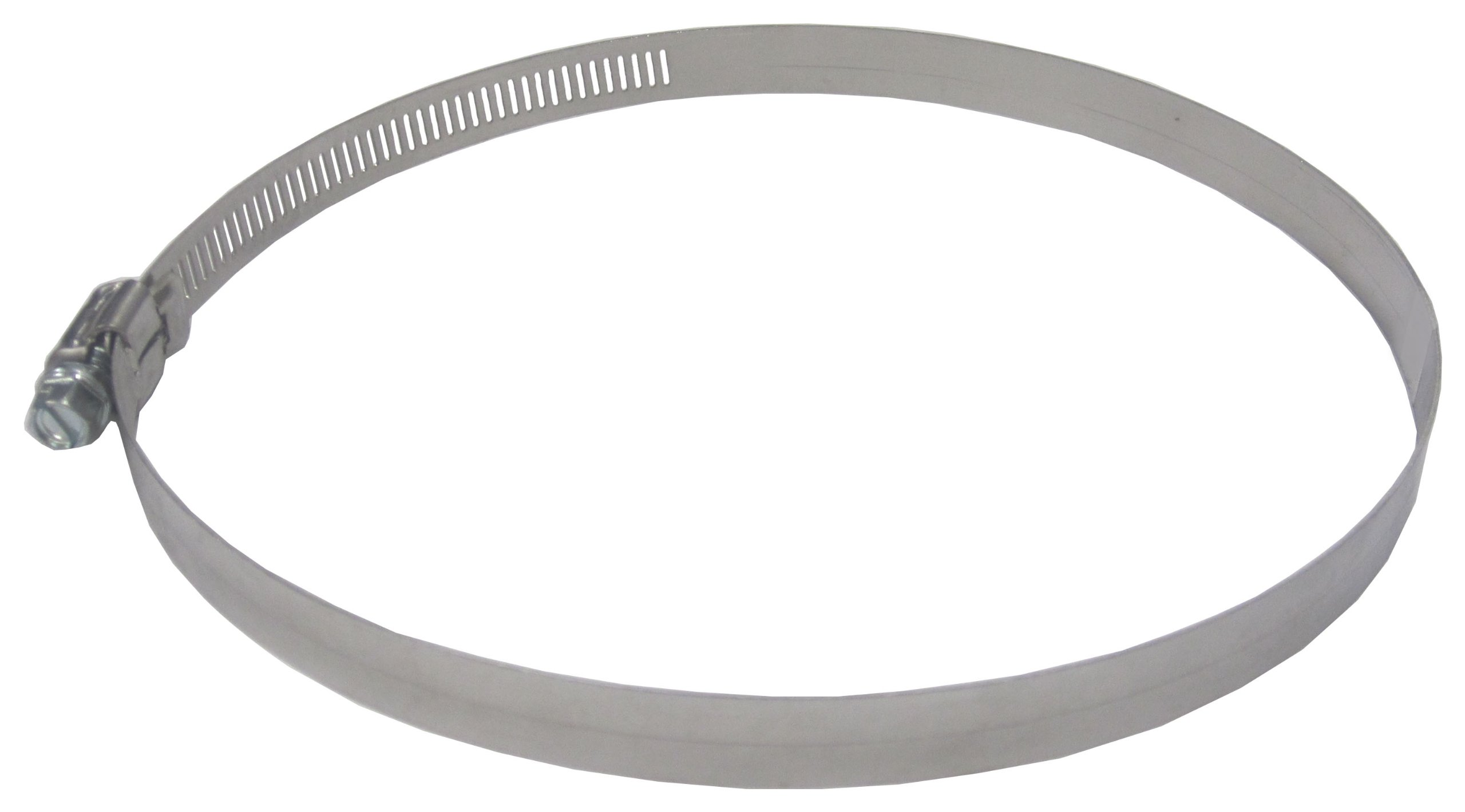 LDR 610 6104 Adjustable Stainless Steel Hose Clamp with Hex Head Screw, 6 1/8-Inch to 7-Inch