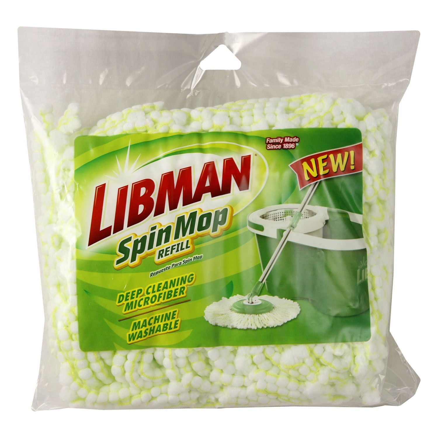 Libman 1164 Spin Mop and Bucket Refill 01164
