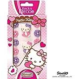 Hello Kitty Zuckerfiguren Mit Blumen