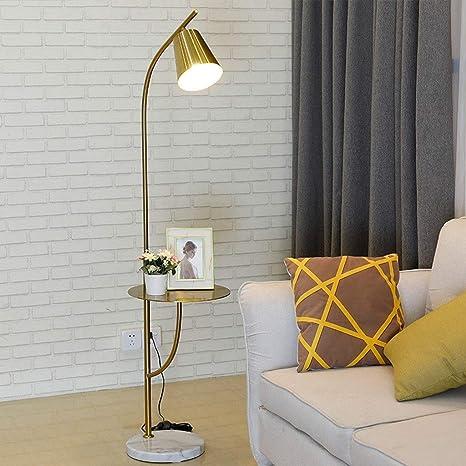 Moderna con pie de LED Lámpara Sencilla y de Base Stehlampe hCQtdxsr