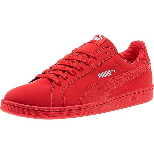 Puma Unisex Adulti Suede Classic Low Top Scarpe Da Ginnastica Rosso rosso/bianco 05 6 UK