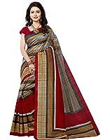 e-VASTRAM Women's Silk Saree With Blouse Piece (Angoori4_Maroon)