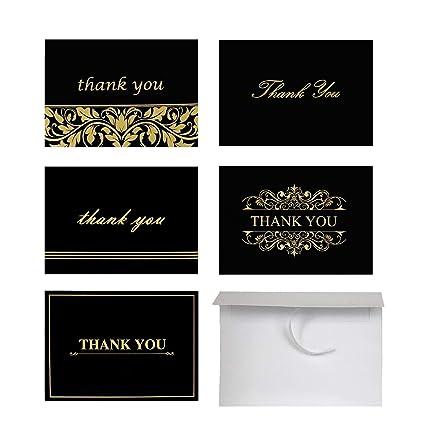 Amazon Com Thank You Cards 100 Count Thank You Notes Bulk Thank