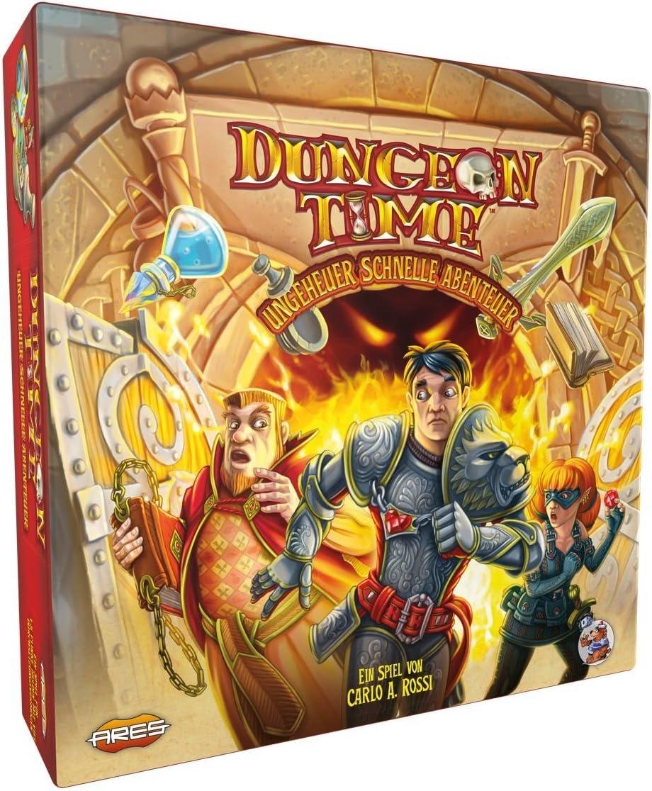 Asmodee argd0073 Dungeon Time de Monstruo rápida Aventura, Juego: Amazon.es: Juguetes y juegos