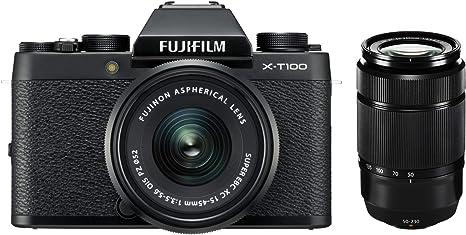 Fujifilm X T100 Cámara de sistema (con 24,2 Mpx, sensor APS-C ...