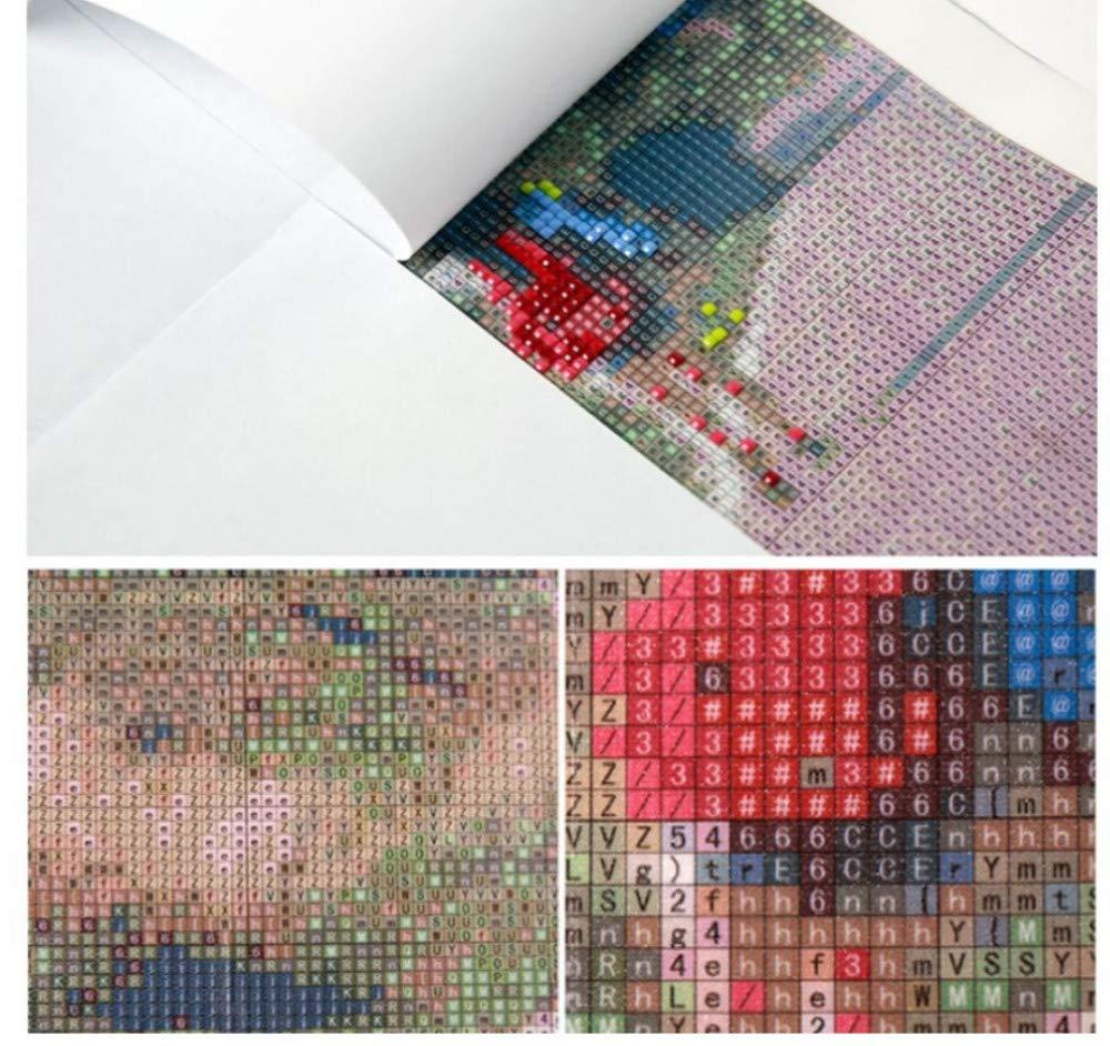 5D Bricolaje Bricolaje Pintura Diamante Bordado Tigre Reina Punto De Cruz Diamante Rhinestone Mosaico Decoraci/ón para El Hogar 40X50 Cm