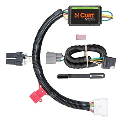 CURT 56170 Vehicle-Side Custom 4-Pin Trailer Wiring Harness for Select Honda Pilot: Automotive