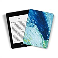 Kindle Paperwhite [10. generacji-2018, numer modelu: PQ94WIF] - trwała inteligentna skórzana osłona pasuje do Amazon…
