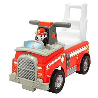 Paw Patrol Marshall Fire Engine Ride-On Vehicle: Toys & Games