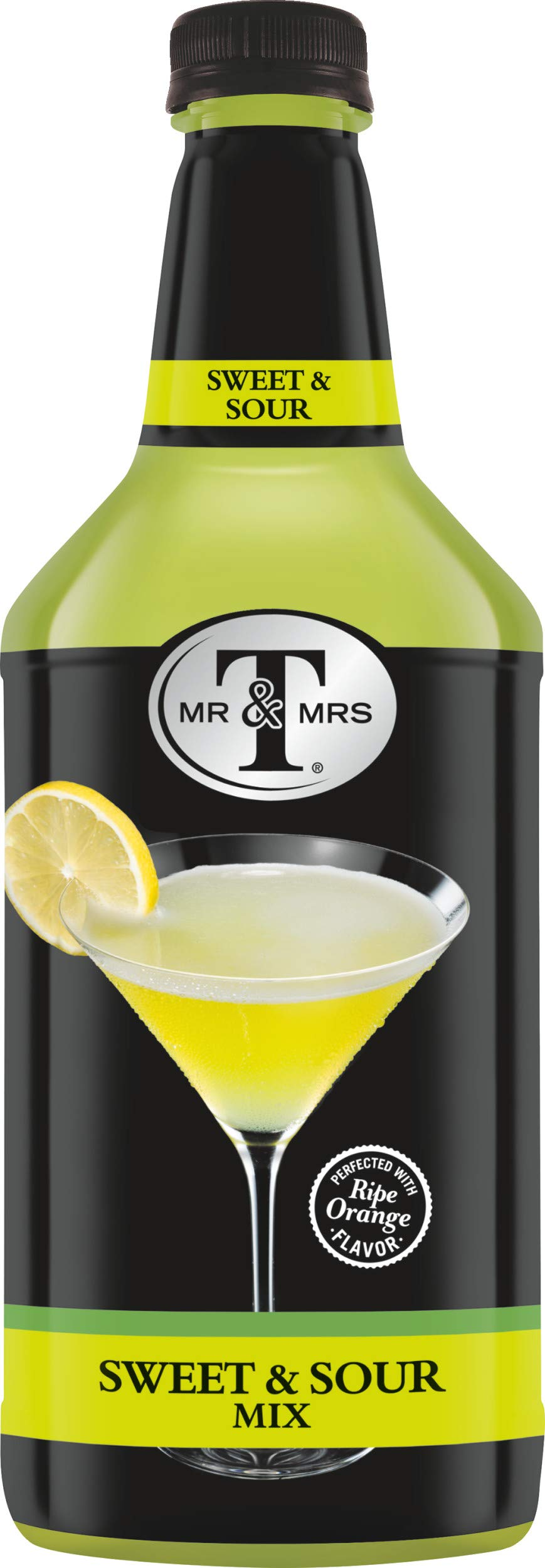 Mr & Mrs T Sweet & Sour Mix, 1.75 Liter Bottle (Pack of 6) by Mr. & Mrs. T