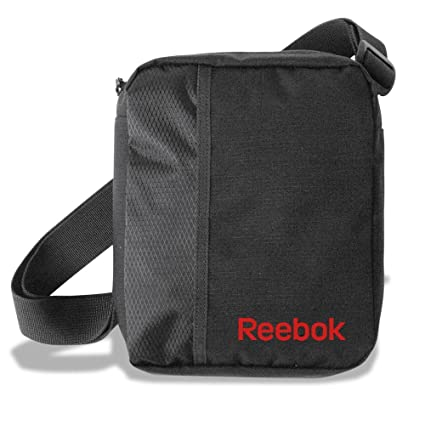 78cd72fc99 Borsa tracollina a tracolla Grafite REEBOK Colore graffite Misure: 22x23x7  cm Volume 2,55: Amazon.it: Valigeria